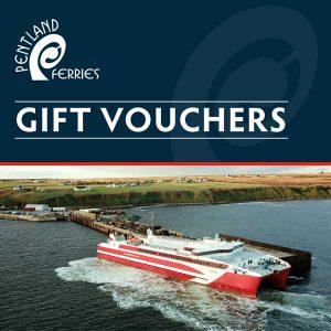 Pentland Ferries - Gift Vouchers